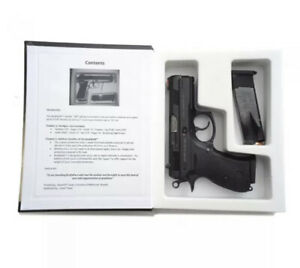Larger ML Hand Gun Hider Book Safe Concealed Hidden Compartment up to 44 caliber