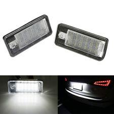 2Pcs 18 LED Lampada spia targa senza errori per Audi A3 A4 B6 B7 A6 A8 Q7 A5