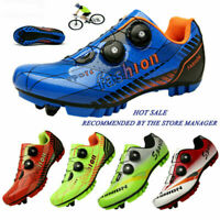 Professional Mountain Bicycle Sneakers Men SPD Cleats Outdoor Bike Cycling Shoes