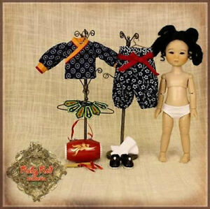 HA0036A Peng Ping, Dragon Boat  Doll Ruby Red Galleria NRFB 8""