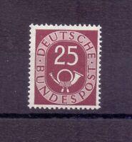Bund 1951 - 25Pf. Posth. MiNr. 131 postfrisch** geprüft - Michel 100,00 € (254)