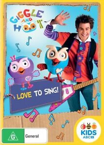 Giggle & Hoot - Love To Sing! (DVD, 2013, Region 4) ABC Kids NEW & SEALED
