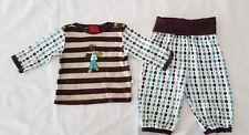 Baby Boy Two-Piece Set / Top & Pants, Size 2-3 Mths / 00, Unique Retro Design