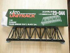 Kato 23-044  N Gauge Black Truss Bridge - Open box