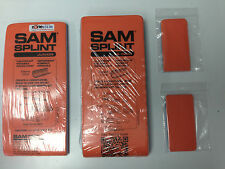 """Lot of SAM Splints - Assorted Sizes, Family Pack - 1 36"""", 1 Junior, 2 Finger"""