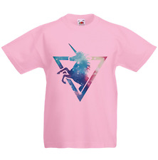 Unicorn Galaxy Kid's T-Shirt Children Boys Girls Unisex Top