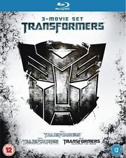 TRANSFORMERS 1-3****BLU-RAY****REGION B****NEW & SEALED