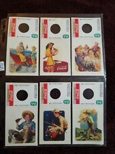 Coca Cola Paper Ads Bottle Topper stickers Italy