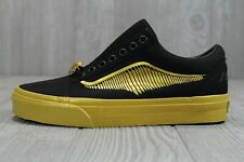 48 New Vans X Harry Potter Old Skool Golden Snitch Shoes Womens 6.5 7 Mens 5 5.5
