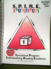 S.P.I.R.E. READER ONE SPECIALIZED PROGRAM BY SHEILA CLARK-EDMANDS 2002 SPIRAL