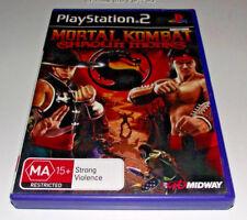 Mortal Kombat Shaolin Monks PS2 PAL *Complete*