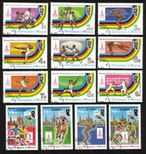 Summer Olympic Games (1980 Moscow): Soccer, Pole Vault, Etc. - Complete Set of