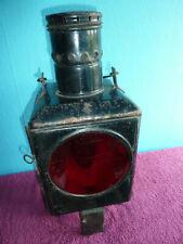 DB Eisenbahnlampe Signalleuchte Petroleumlampe Laterne (A)