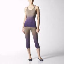 adidas Womens Stella McCartney Gym Running Yoga Tank Top & Tights Set M62215/17