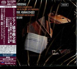 VLADIMIR ASHKENAZY-RACHMANINOV: PIANO CONCERTOS-JAPAN 2 SHM-SACD Ltd/Ed R47