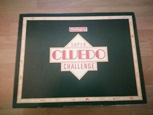 Vintage Waddingtons Super Cluedo Challenge Board From Game c. 1988