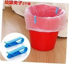 8pcs household garbage basket can waste bin dustbin trash can junk edge bag