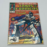 The Transformers Comic Book #3 Marvel Comics 1984 UNREAD