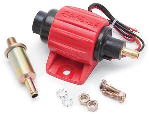 Edelbrock 17303 Universal Micro Electric Gasoline Fuel Pump - 30 GPH / 114 LPH