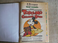 TOPOLINO supplemento al Messagero libro con 16 numeri rilegati del 1989