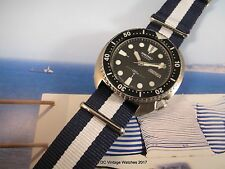 Mid-1981 Seiko 6309-7040 Automatic Diver w/CW Synergy Strap & Pelican Case