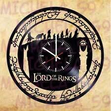 Orologio Disco Vinile Vinyll Clock LORD OF THE RING SIGNORE DEGLI ANELLI