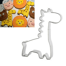 Giraffe Shape Stainless Steel Cake Biscuit Mold Cookie Cutter Mould Bakeware