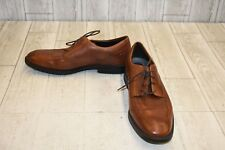 Rockport Dressports Business Apron Toe Leather Oxfords, Men's Size 9M, Brown