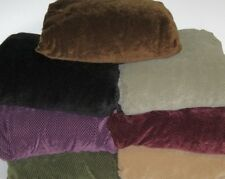 PIQUE T CUSHION CHAIR COVERS------BLACK-----6 OTHER COLORS AVAILABLE---SEE STORE