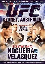 UFC #110 - Nogueira Vs Velasquez (DVD, 2010, 2-Disc Set)