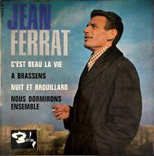 """Jean Ferrat - C'est beau la vie - Vinyl 7"""" 45T EP"""