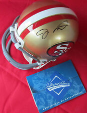 07fe4fe63dc Joe Montana Signed San Francisco 49er s Mini Helmet - Upper Deck UDA