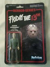 Reaction Friday the 13th Jason Voorhees action figures.