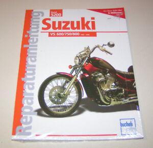 Manual de Reparación Suzuki Intruder Vs 600/750/800 - Año Fabricación 1985 Bis
