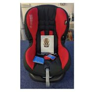 Maxi-Cosi Priori SPS+ Group 1 Car Seat - Red & Black - Mothercare Exclusive