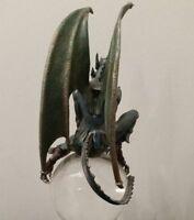 Gargoyle Pewter Sculpture Statue Art Figure War Fallen Angel Lucifer Devil Satan