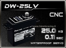 SERVO COMANDO DIGITALE 25 Kg DW-25LV WATERPROOF POWER HD INGRANAGGI TITANIO