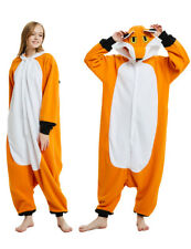 Animal Onesie0 Kigurumi Adult Pajamas Cosplay Fox Costumes Robe Jumpsuit Anime