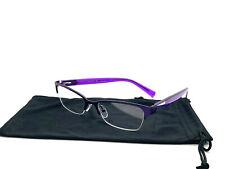 Armani Women Eyeglass AX 1004 6015  Matte Purple Half Rim Frame 52[]17 135