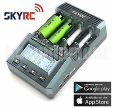 SKYRC MC3000 UNIVERSAL BATTERY CHARGER ANALYZER IPHONE / ANDROID APP