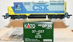 Kato GP35 (1A) HO Scale Diesel Locomotive CSX #4420.