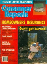 1989 Consumer Reports Magazine: Homeowners Insurance/Dodge Sprint/Hyundai Sonata