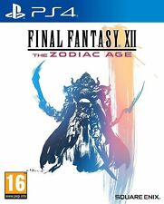 Final Fantasy XII The Zodiac Age For PS4 (New & Sealed)