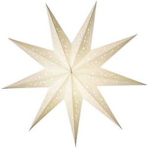 Starlightz Leuchtstern Papierstern Bianco Baby Weihnachtsstern