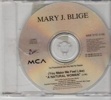 (EX257) Mary J Blige, A Natural Woman - 1995 DJ CD