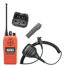 Icom IC-41PRO 80 Channels UHF Portable/Handheld CB Radio - Orange