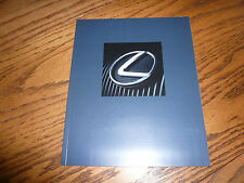 2005 Lexus LS ES SC RX GX GS IS LX Sales Brochure