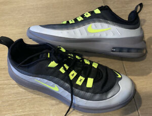 NIKE Air Max Axis Gray/Volt/Black Youth Boy Size 6.5Y Brand New! Back To School!