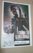 CE1 Original NEAR DARK Adrian Pasdar, Jenny Wright  MOVIE Poster Argentina 1987