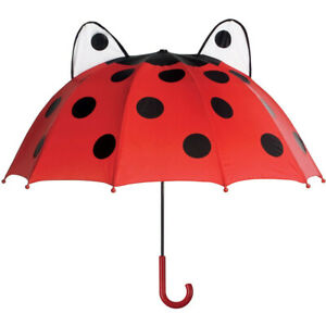 Children's Red Ladybug Kids Umbrella for Boys and Girls